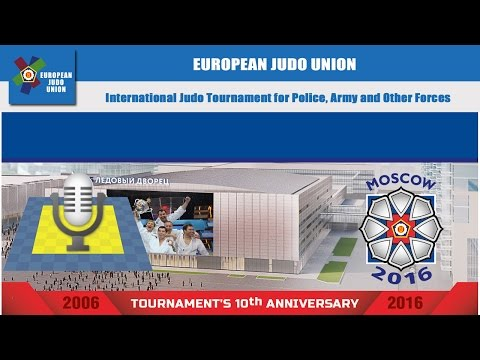 International Judo Tournament for Police, Army and Other Forces 2016