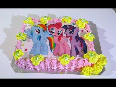 Пони торт своими руками