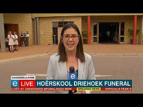 Update: Hoërskool Driehoek  funeral