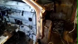 ваз 2108 ремонт, кузова,двс,кпп часть 7. удаление тунеля.