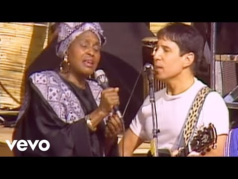 Under African Skies (Live from The African Concert, 1987)