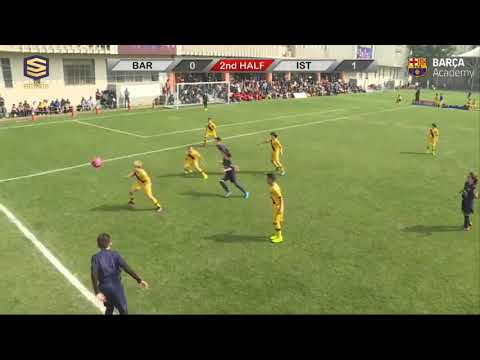 Barcelona vs Istanbul U-11 Finals Highlights Barcelona Academy Cup Asia Pacific 2020