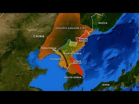 North Korea's Geographic Challenge