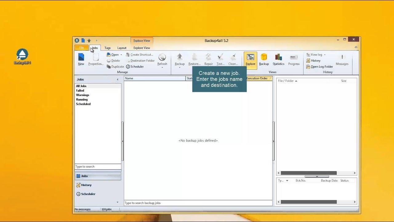 Backup the Favorites folder