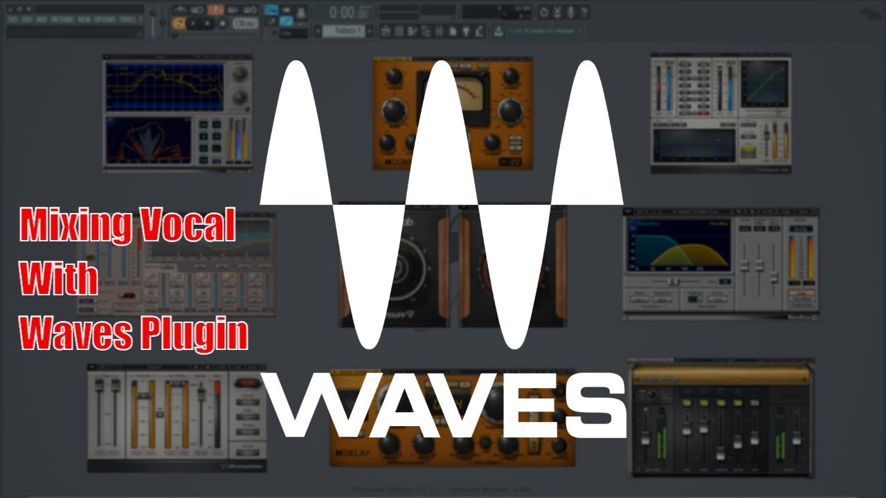 Tutorial Processing Vocals The Professional Way With Waves Plugins