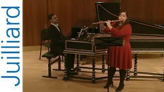 Kirnberger Sonata No. 4 in G Major  | Juilliard Skip Sempé Historical Performance Master Class