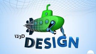3D PC 123D Design tutorial #1