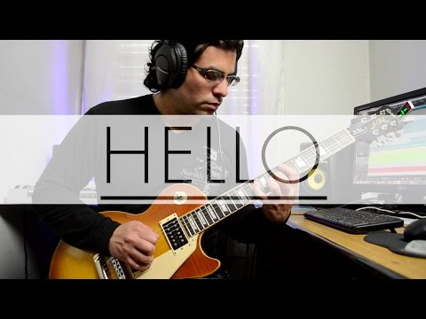 Adele Hello Electric Guitar Cover by Ivo Cabrera