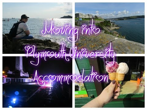 Moving Into Plymouth University Accommodation and Freshers Week | Layla Earl