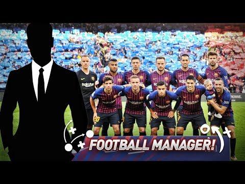 BARCELONA MANAGER MODE - FOOTBALL MANAGER 2019 (Episode 1)