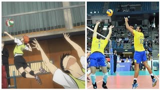 Haikyuu in Real Life !? Best Volleyball Actions (HD)