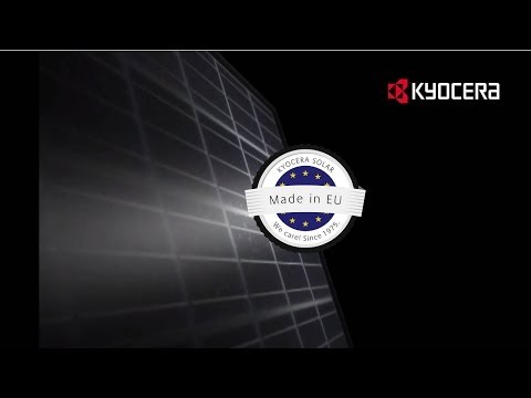 Kyocera - Solar technology of superior quality