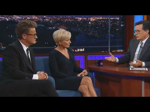 Scarborough Tells Colbert -- 'I'm No Longer A Republican'