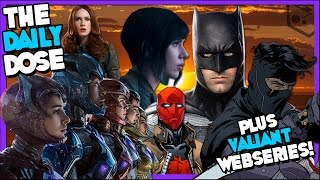 Justice League Will Fix BvS? Redhood Petition, Power Rangers, Ghost in a Shell, Plus Much More!