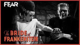 Monster Meets Bride | Bride of Frankenstein