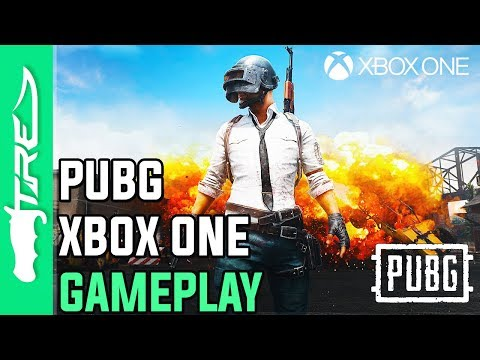 PUBG XBOX ONE X GAMEPLAY - MY FIRST ONLINE BATTLE ROYALE MAT