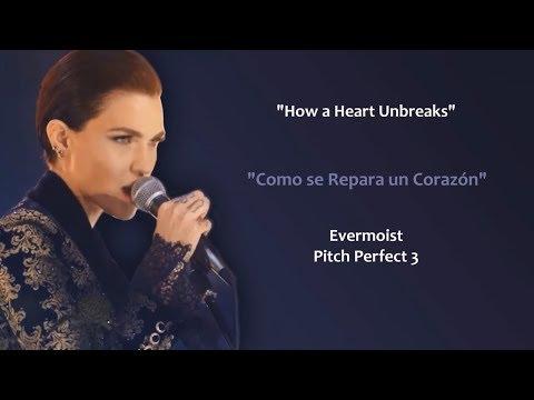 How A Heart Unbreaks (Lyrics/Letra) Ruby Rose & Evermoist