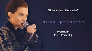 How A Heart Unbreaks (Lyrics/Letra) Ruby Rose & Evermoist