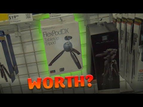 Crappy Best-Buy Tripod! Is It Worth?!?