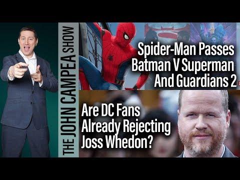 Spider-Man Homecoming Passes Batman V Superman And Guardians 2 - The John Campea Show