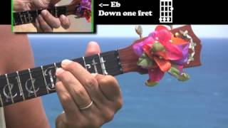 Bartt's Ultimate Ukulele Book - Major Chords Lesson