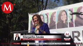 He cometido errores pero de corrupción, nada: Margarita Zavala