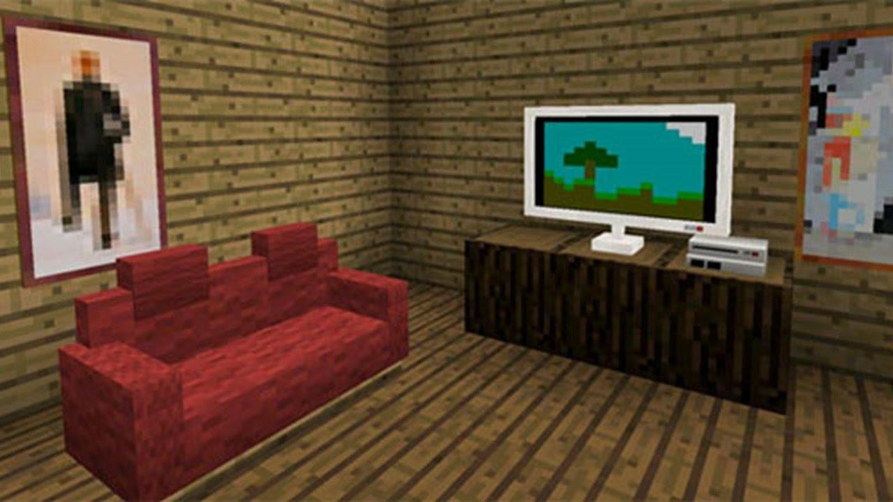 Мод на мебель в майнкрафте 0.14.0