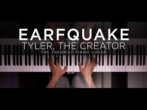 Tyler The Creator - EARFQUAKE  The Theorist Piano Cover