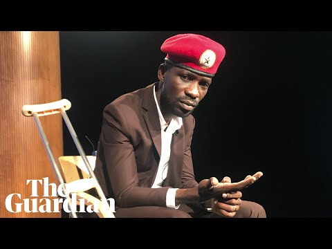 Who is Ugandan pop star turned politician Bobi Wine?