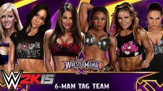 WWE 2K15:  Diva