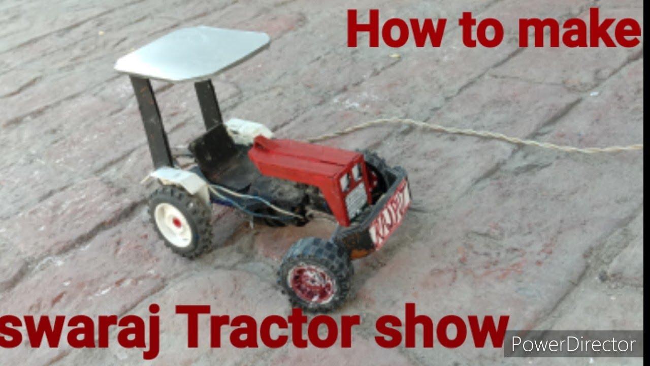 Download How to make swaraj 855 show    swaraj 855  ki show kaise banaen