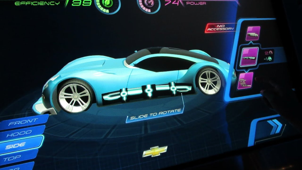 Design Your Own Car >> New Design Your Own Test Track Car Walt Disney World Epcot Youtube
