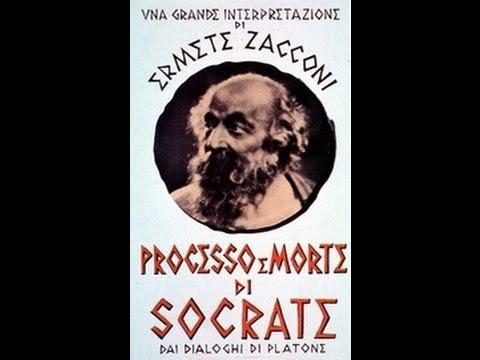 ''PROCESSO e MORTE di SOCRATE''(1939)film con Ermete Zacconi