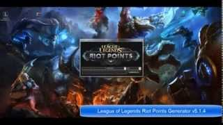 League of Legends RP Riot Points Hack v5 1 New Updated 2014 For Free