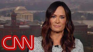 Melania's spokeswoman questioned over Trump's behavior
