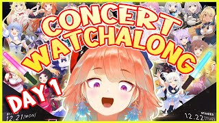 【HOLOLIVE 2ND FES. WATCHALONG】Let's cheer for them together! 【DAY 1】 #こえていくホロライブ  #kfp #キアライブ
