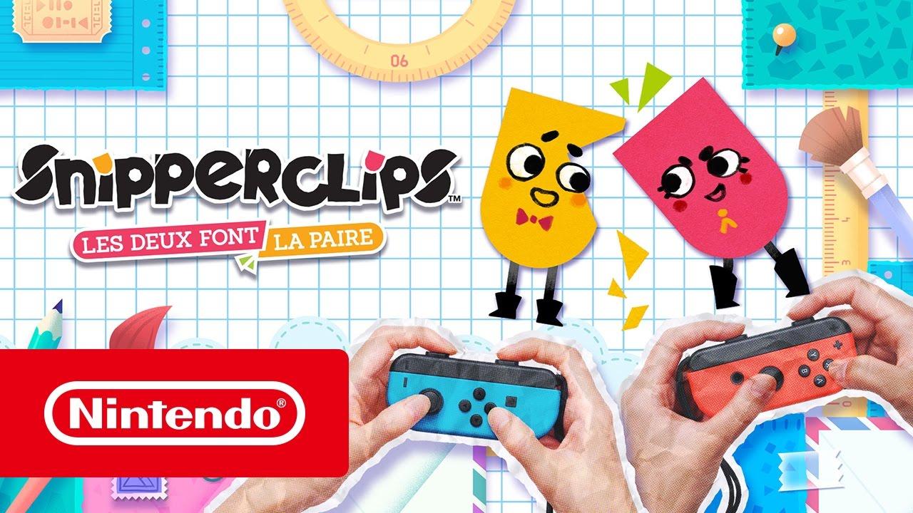 [Switch] Le fun à l'honneur dans cette nouvelle bande-annonce de Snipperclips