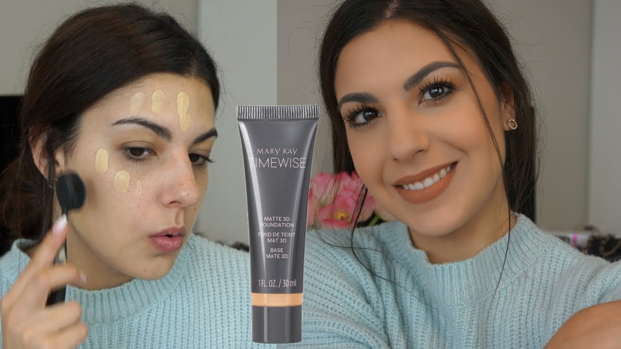 New Mary Kay Foundation Review Wear Test On Dry Skin By