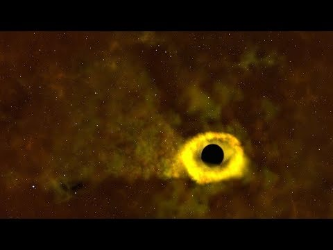 巨變中的宇宙:恆星遭黑洞碾碎吞噬