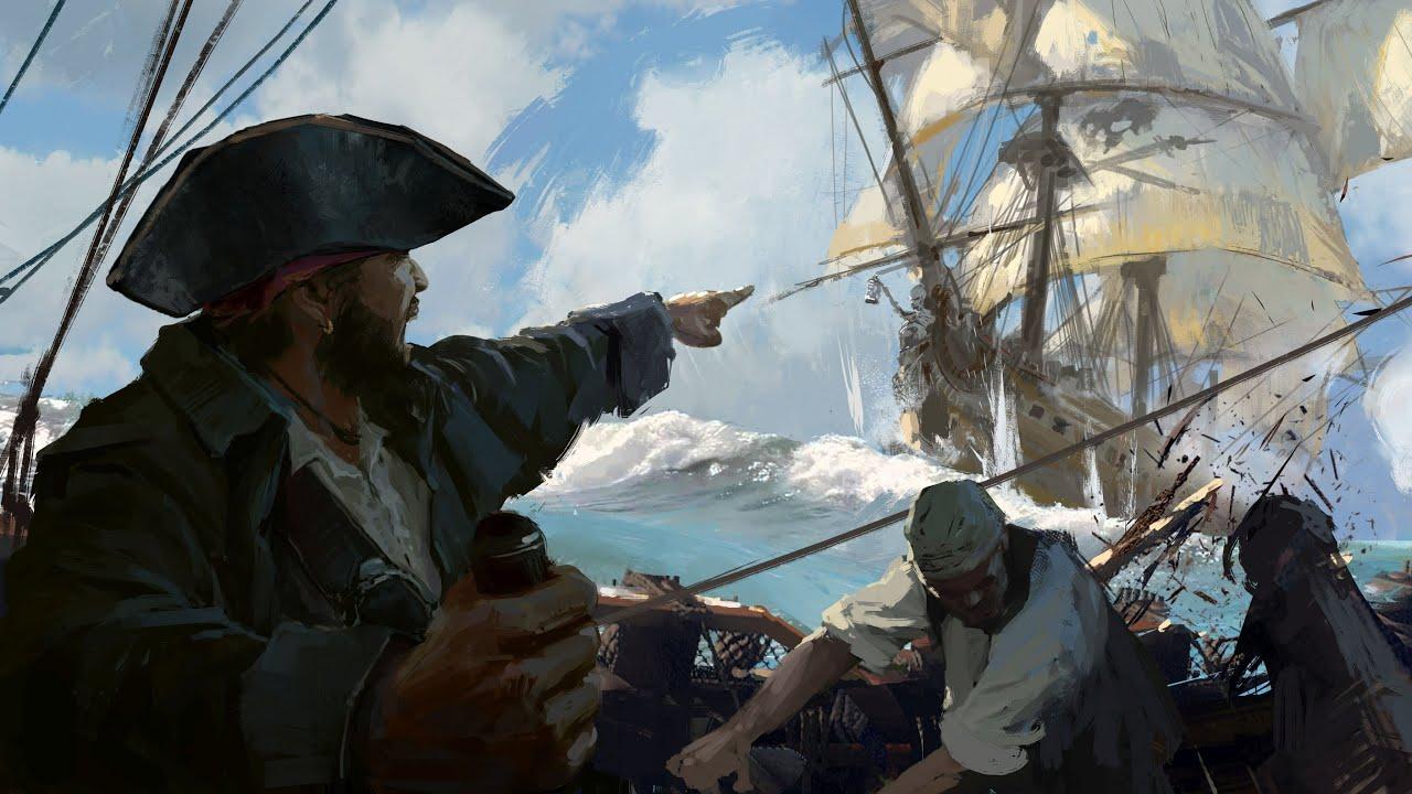 ВЕСЁЛЫЙ РОДЖЕР: История пиратского флага.