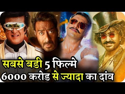 Bollywood's Biggest 5 Films Will Earn More Than 6000 Crores in 2 Months