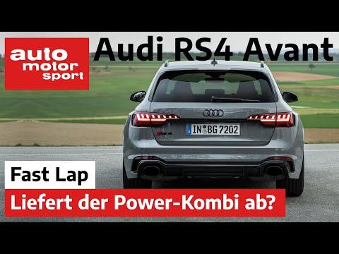Audi RS4 Avant: Quattro und 450 PS für die ganze Familie - Fast Lap | auto motor und sport