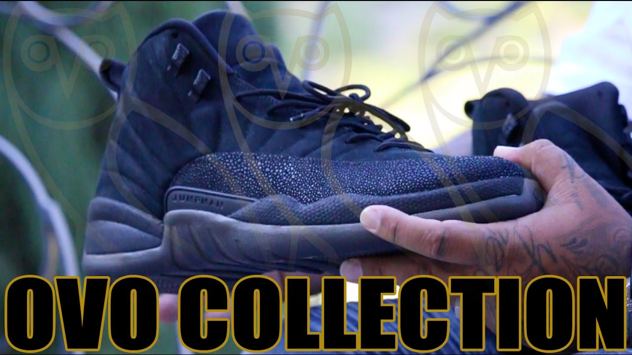 42f7e8c41 OVO Drake Friends and Family Sneaker Collection!! - YouTube