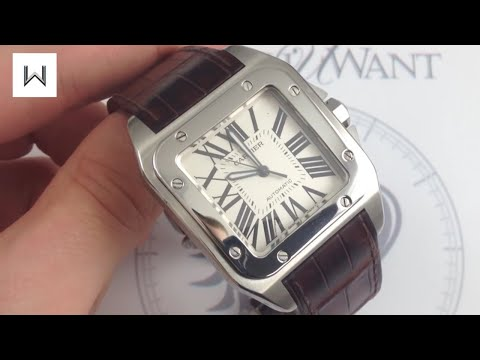 Cartier Santos 100 Large W20073X8 Luxury Watch Review