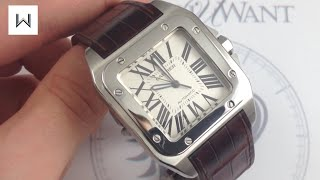 Cartier Santos 100 Luxury Watch Review