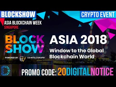 Blockshow Asia 2018 - Singapore - Asia Blockchain Week - Best place for Blockchain business -[Hindi]