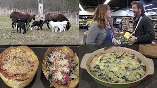 Spaghetti Squash (2 Ways!) Spinach/Artichoke Dip, and Baby Lambs (Episode #404)