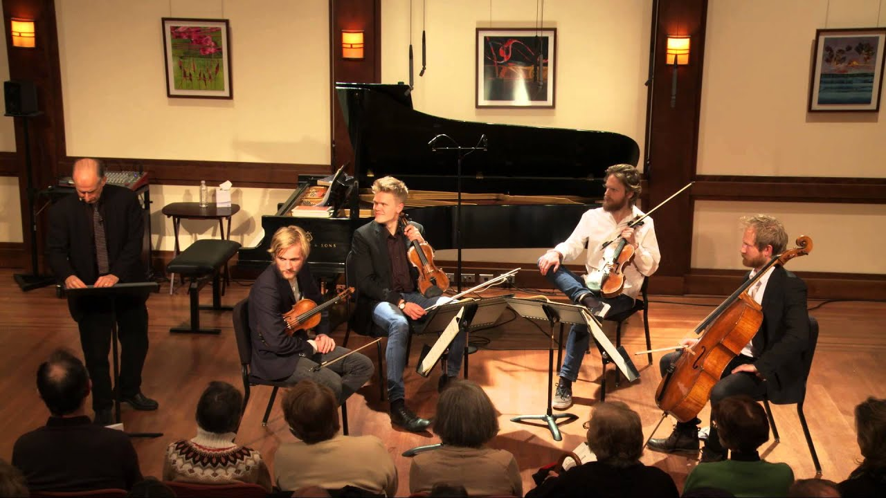 """Inside Chamber Music with Bruce Adolphe: Beethoven """"Serioso"""" String Quartet"""