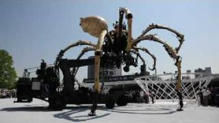 Biggest Spider In The World Yokohama's Spider robot