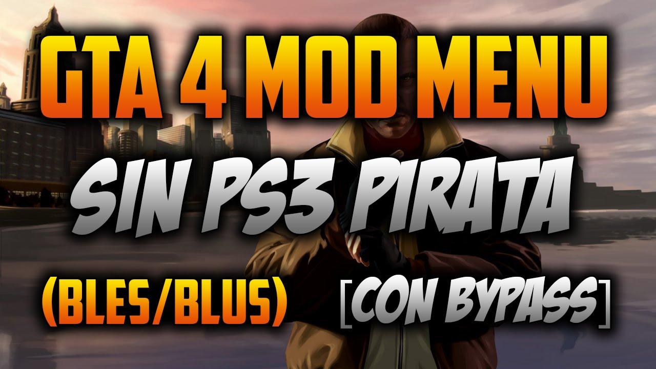 GTA 4 Mod Menu Sin Ps3 Pirata (Compatible Con Amigos) [BLES/BLUS] (Como  Instalar) + [Download] by LuisdaModz HACKS, GAMEPLAYS, SORTEOS Y MAS